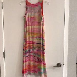 Anthropologie silk dress size 2